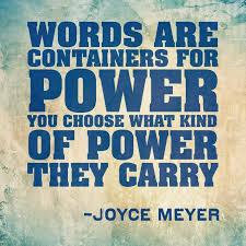 joyce meyer words
